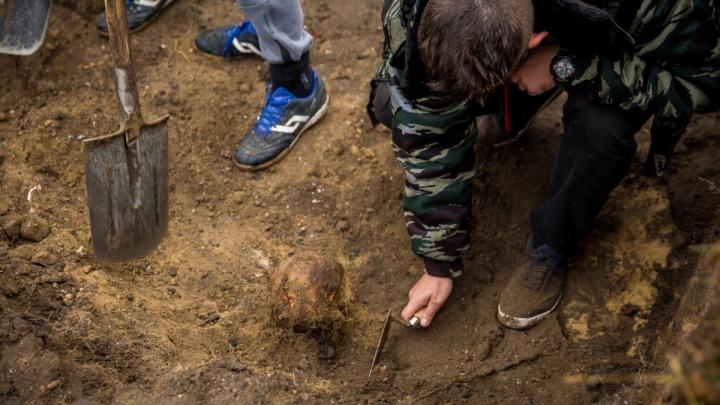 На месте строительства четвёртого моста нашли два детских скелета