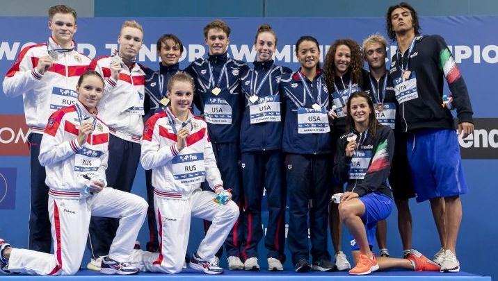 Новосибирские пловчихи помогли сборной России выиграть две серебряных медали чемпионата мира