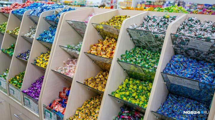 Федеральный преступник попался в Красноярске на краже конфет на 21 рубль