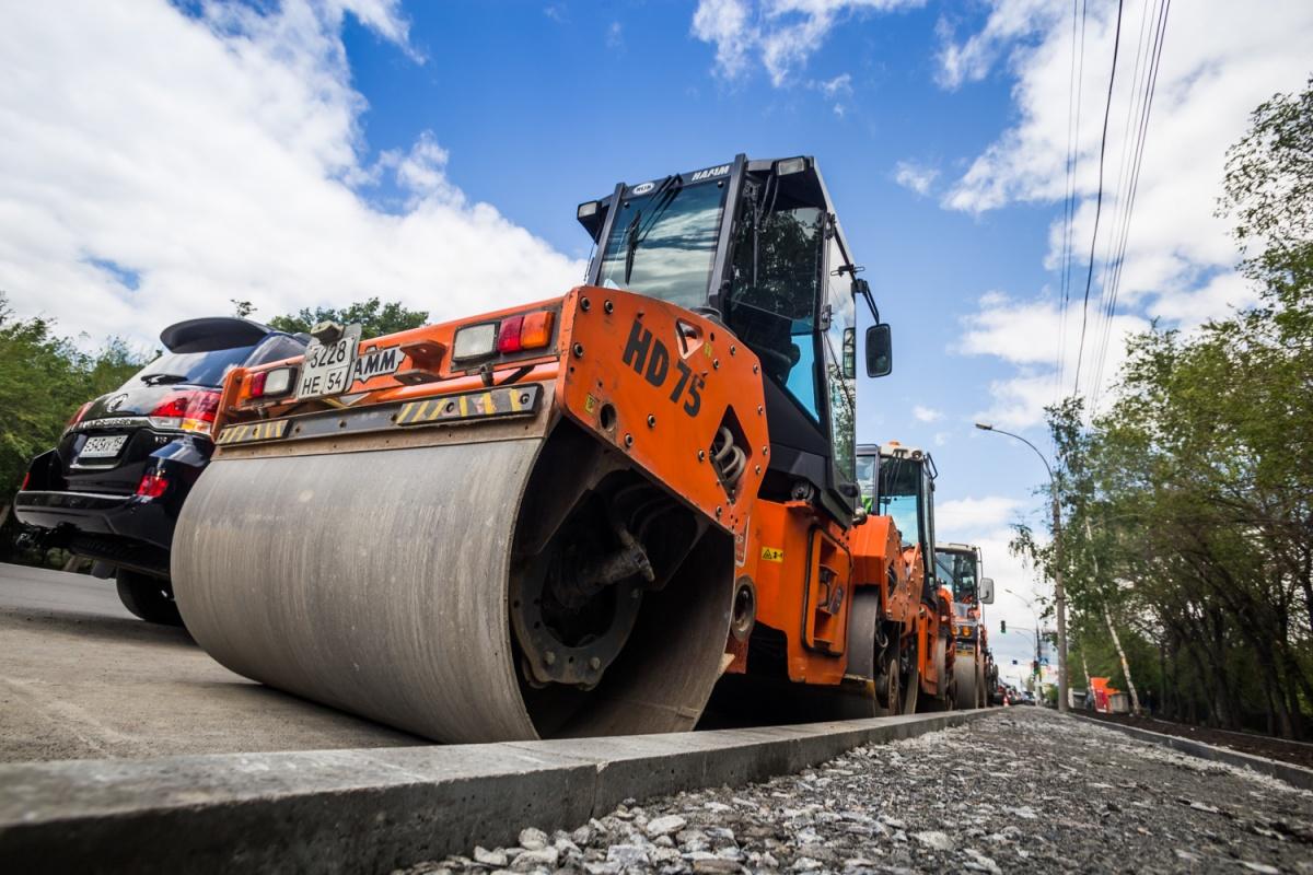 В Новосибирске идёт ремонт опасных участков дорог