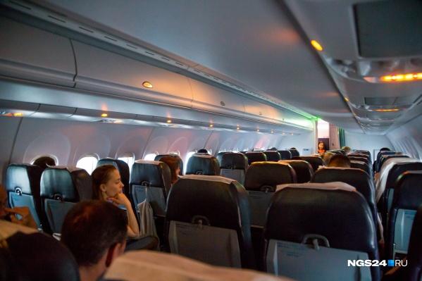 Самолет вернулся обратно из-за неполадок с двигателем