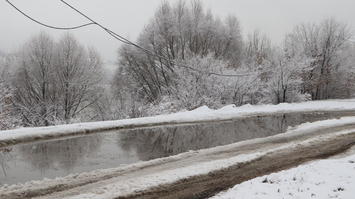 Нижегородцы пожаловались на незаконную станцию снеготаяния возле недостроенного ЖК «Окский берег»