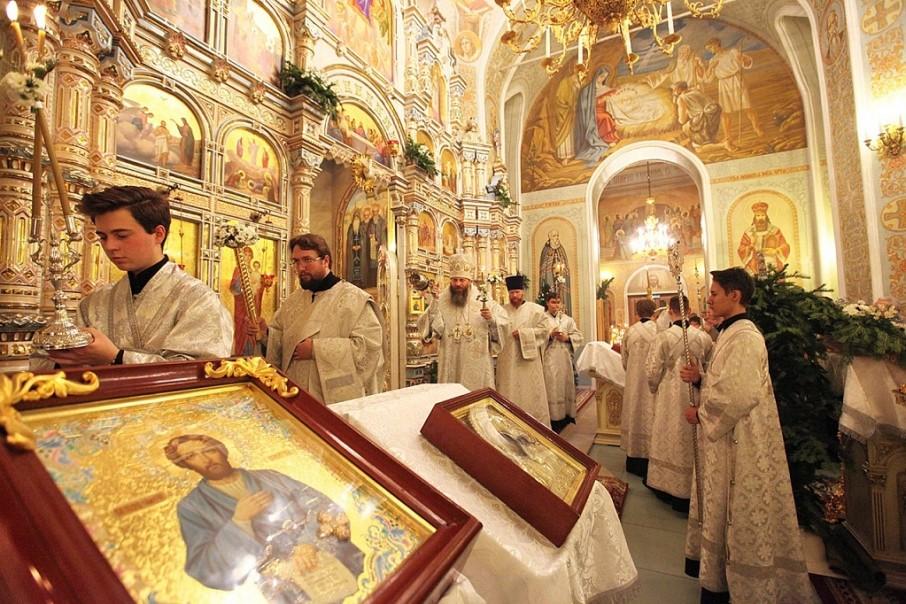 Митрополит Челябинский и Миасский Никодим совершит праздничное богослужение в Свято-Симеоновском кафедральном соборе