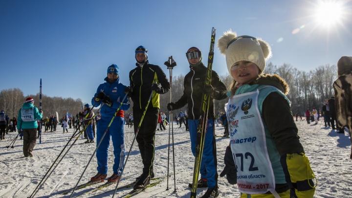 В Новосибирске из-за морозов отменили«Лыжню России»