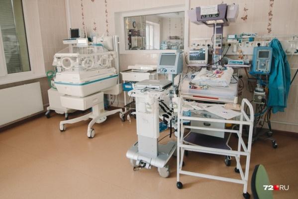 Отделения для выхаживания недоношенных детей оснащены высокотехнологичным дорогостоящим оборудованием