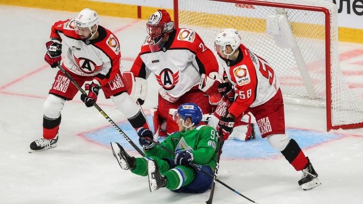 «Зур Хоккей» не удался: «Салават» проиграл в первой домашней игре сезона