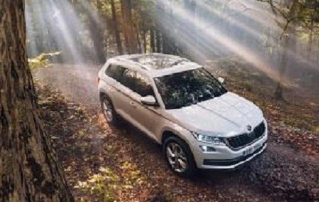 Škoda Kodiaq в России: двигатели и комплектации