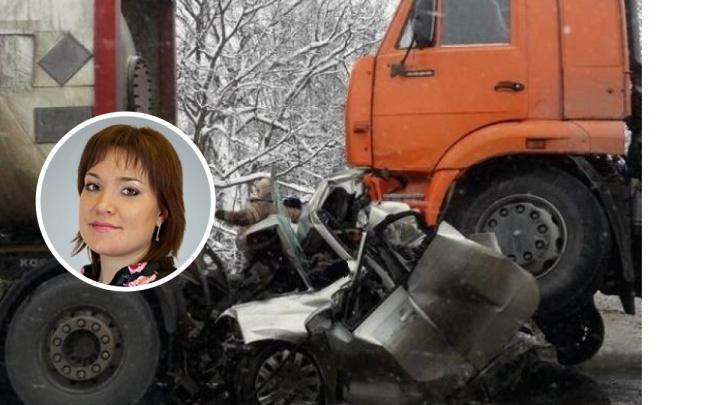 В массовой аварии под Краснокамском погибла заместитель главврача Пермской краевой больницы