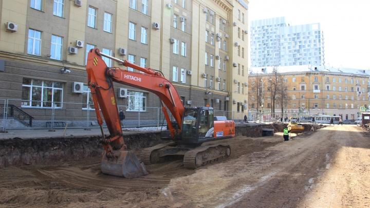В Перми в выходные перекроют часть Комсомольского проспекта