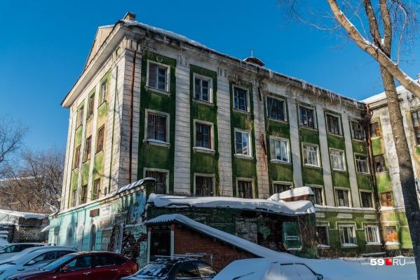 Зданию сто лет