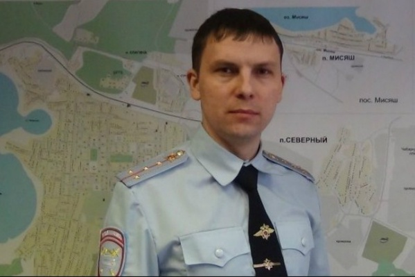 Григорий Керусенко занимает пост начальника ГИБДД Чебаркуля чуть больше трёх месяцев