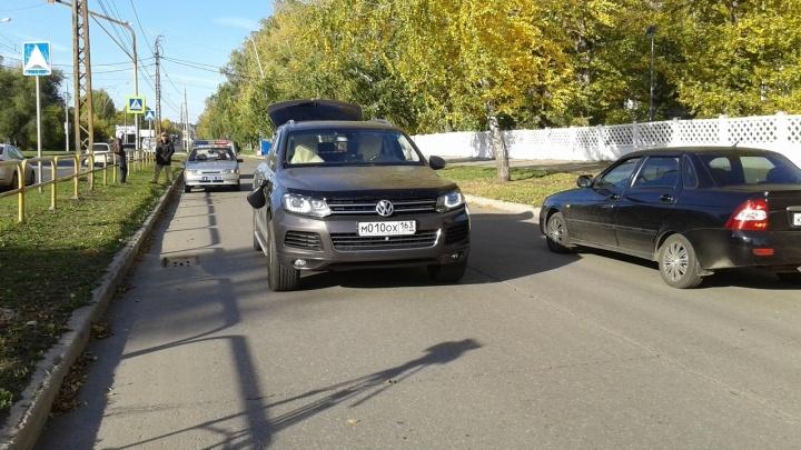 В Тольятти в ДТП 11-летняя девочка сломала ключицу