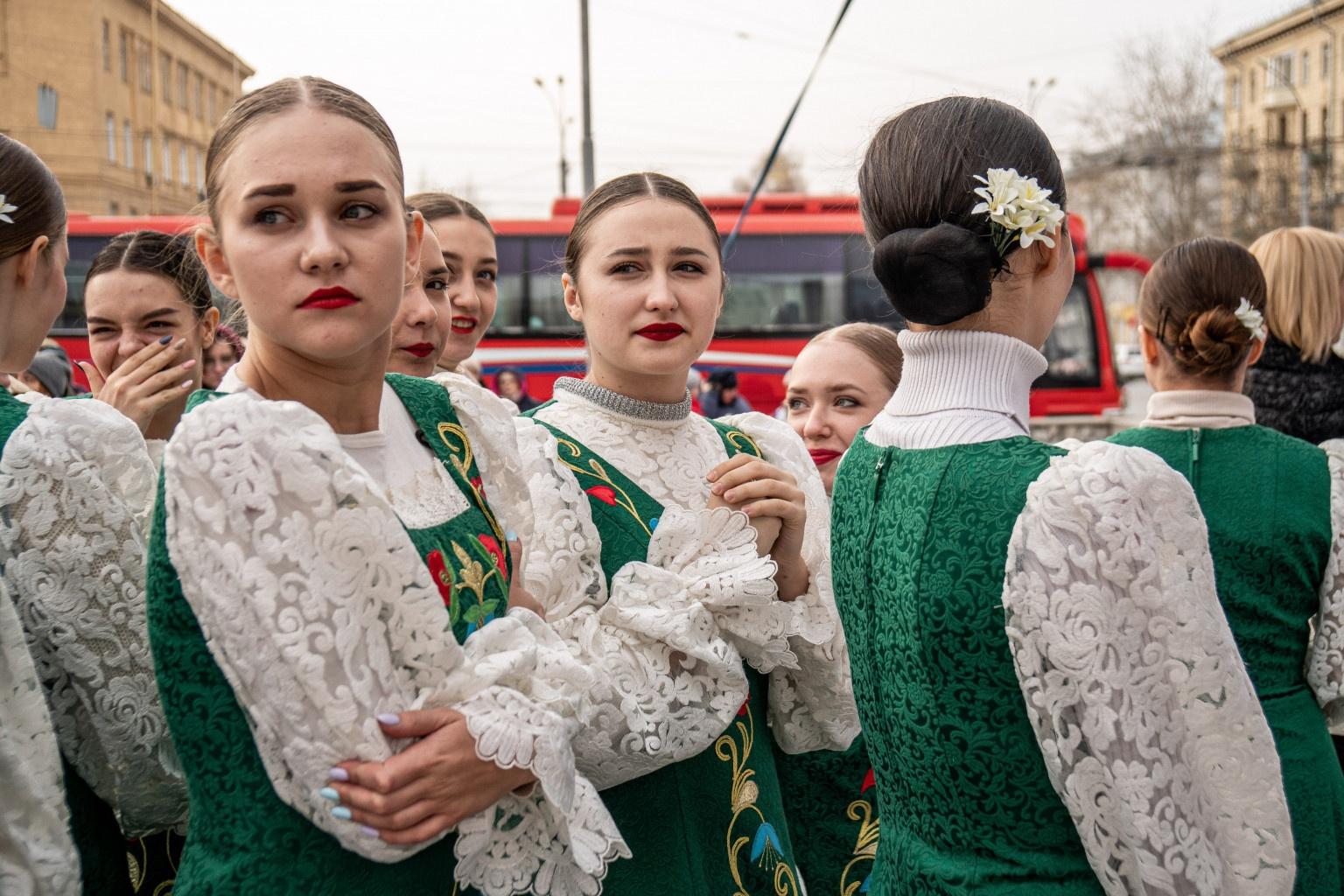 Праздник на площади Пименова продлится до 18 часов вечера