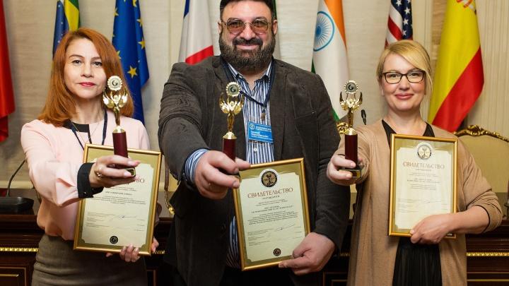 «Оскар» за блины: Владимир Бурковский стал обладателем трех золотых статуэток GEMMA