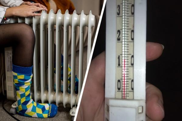 В некоторых квартирах температура не повышается больше 15 градусов