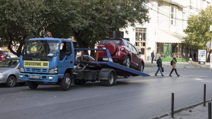 Губернатор повысил тарифы на эвакуацию машин