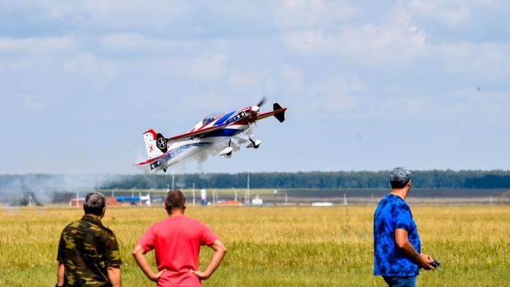 Под крылом самолёта: фоторепортаж с авиавыступлений в Марьяновке