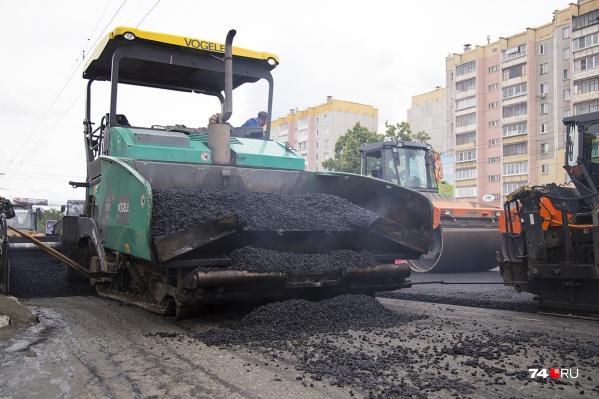 В ближайшее время из-за ремонта дороги пробки ожидаются на выезде в Копейск