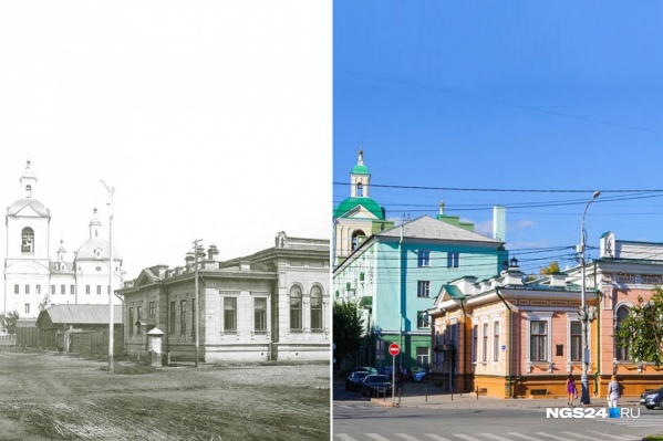 На фото — особняк Кузнецовых на проспекте Мира в Красноярске