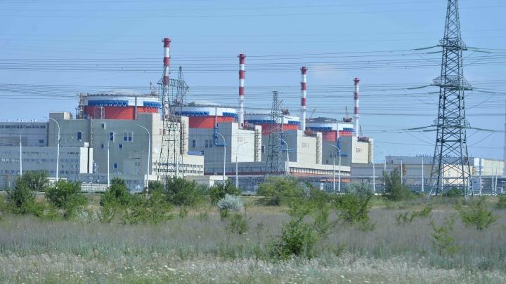 Энергоблок ростовской АЭС отключили от сети