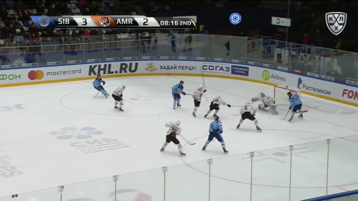 Видео: гол «Сибири» в домашнем матче вошёл в число лучших за неделю