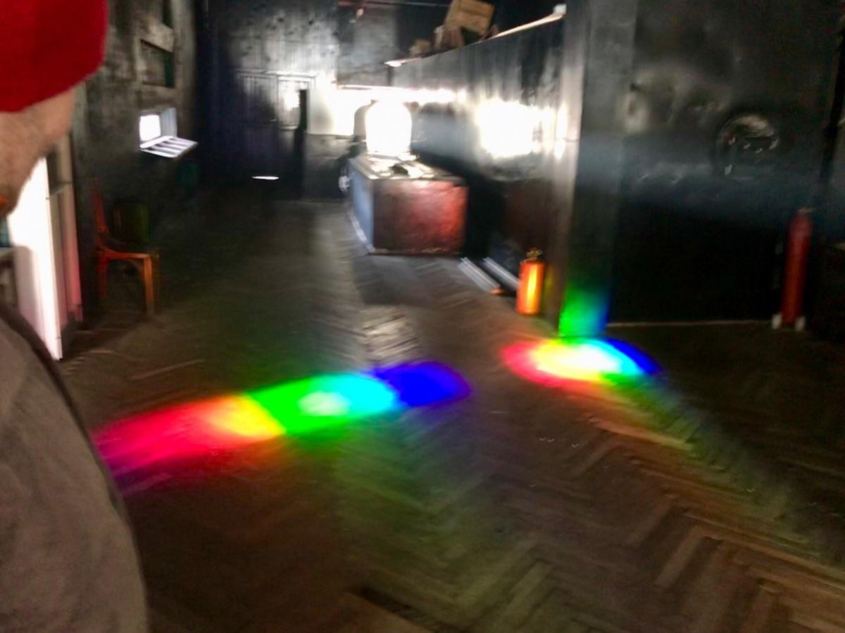 Так выглядит дисперсия света, или рукотворная радуга