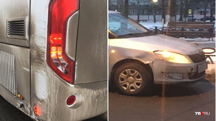 Скандальный автобус Ярославль — Рыбинск попал в ДТП и скрылся: пострадавшие ищут свидетелей