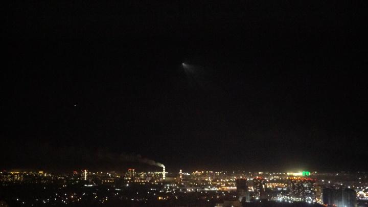 Фотограф НГС снял запуск ракеты-носителя с Байконура (видео)