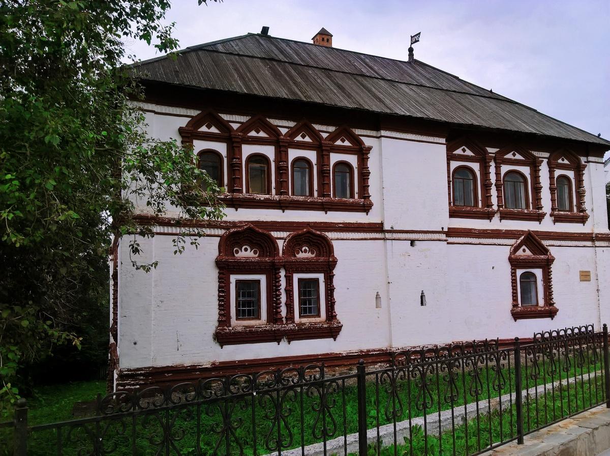 В Соликамске много «пряничных» домиков