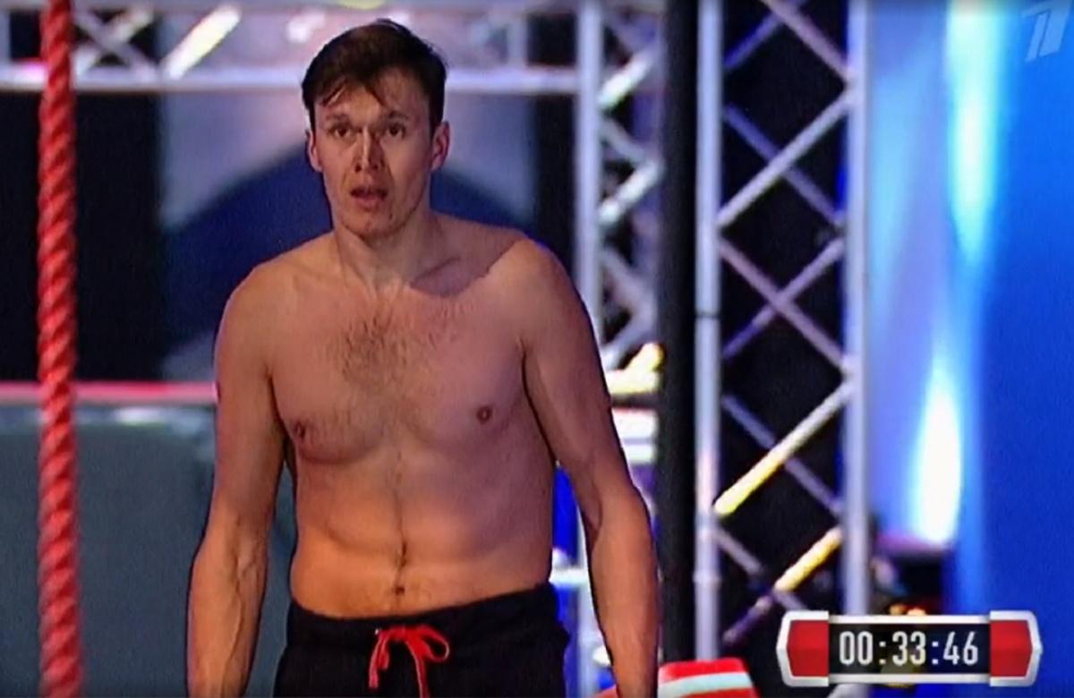 Виктор второй раз прошел в финал«Русского ниндзя»