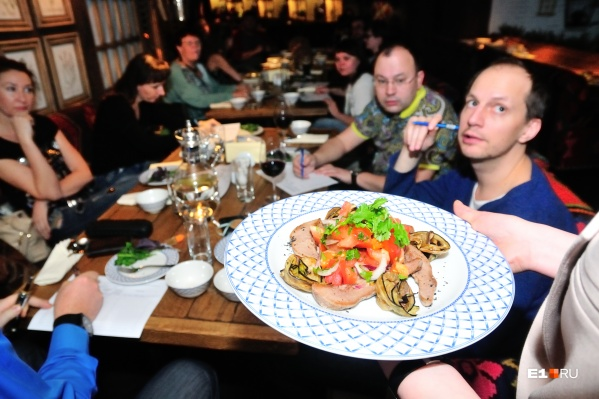Find your favourite food in Ekaterinburg!