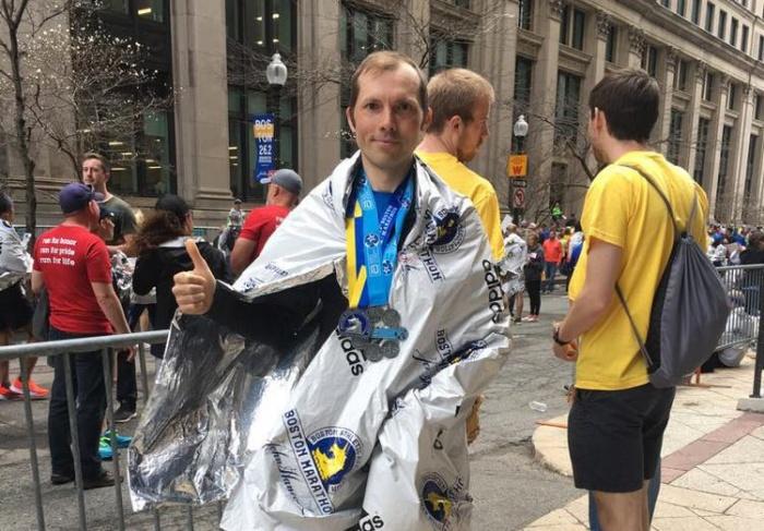 Никита Ежовкин пробежал шестьсамых известных марафонов мира
