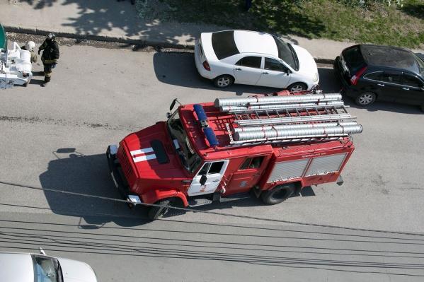 При взрыве пострадал рабочий