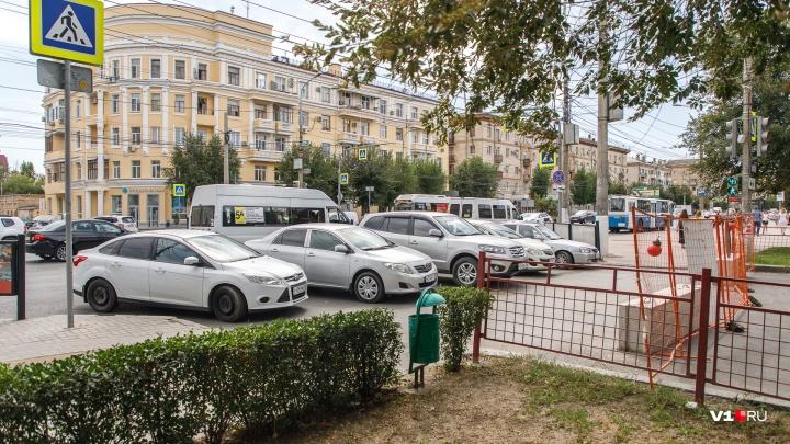 Прощай, стихийная парковка: в Волгограде после масштабных раскопок открыли улицу Огарёва