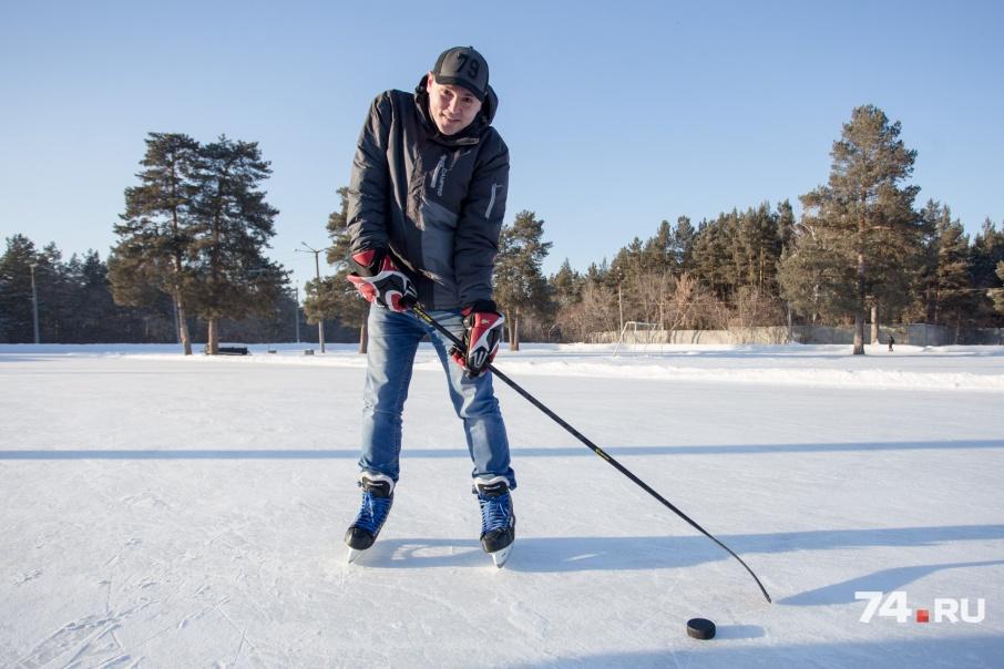 До трагедии Евгений очень любил играть в хоккей