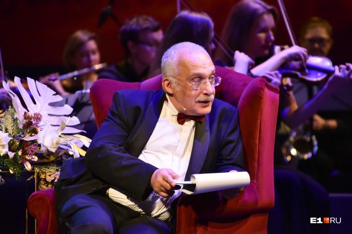 Осенью прошлого года Александр Друзь  вёл премию «Человек года»