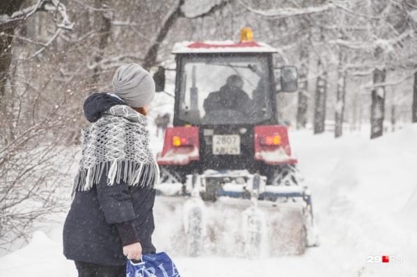 Наступающие выходные, по словам синоптиков, будут снежными