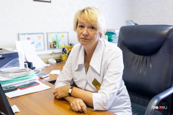 На вопросы журналиста 76.RU ответилазаместитель главврача больницы №9 Виктория Васенина