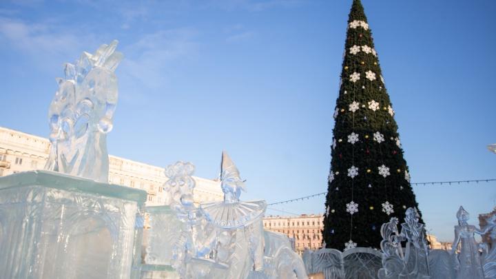 Ёлочка, гори! В Челябинске откроют главный ледовый городок и выберут лучших Деда Мороза и Снегурочку