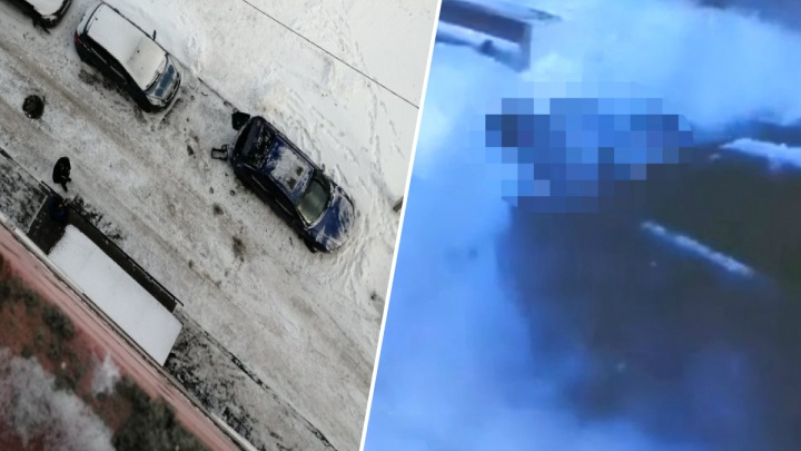 Рухнула на припаркованную машину: в Ярославле 13-летняя девочка разбилась, упав с многоэтажки