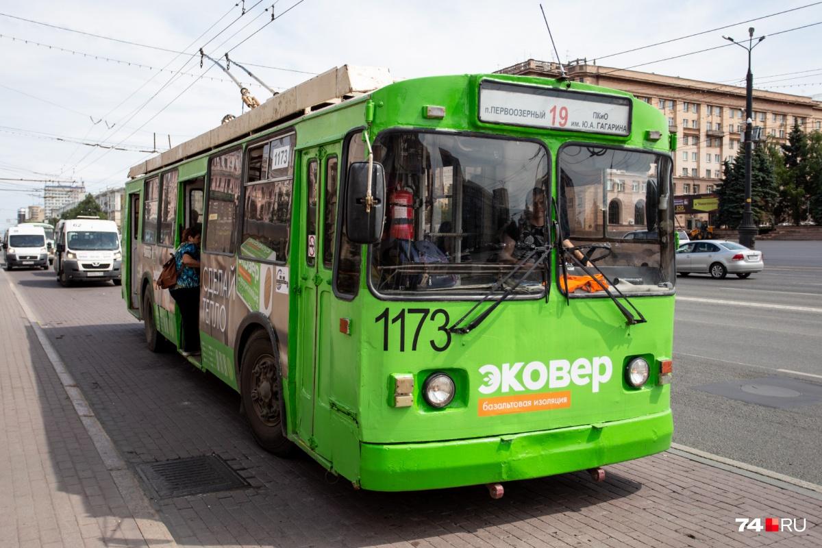 Создать выделенные полосы для общественного транспорта в Челябинске собираются уже два года