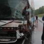 «Все живы, пострадал только водитель»: в ДТП попал туристический автобус с 40 пермяками