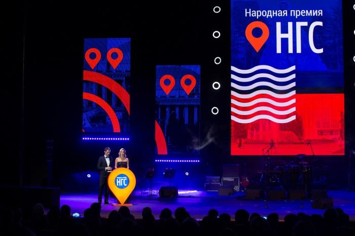 Ведущие церемонии награждения—Елена Летучая и Денис Гребенюк