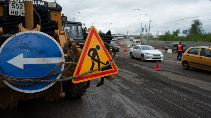 Жителям Сипайлово придется постоять в пробке, власти планируют отремонтировать дорогу в микрорайоне