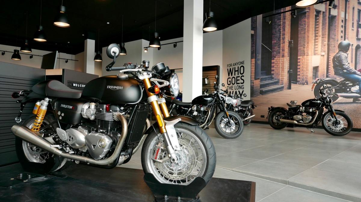 В Новосибирске откроется мотосалон легендарного английского бренда Triumph