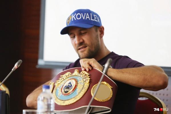 Сергей Ковалёв много раз выигрывал чемпионские пояса, бившись за рубежом, и в России почти не выступал