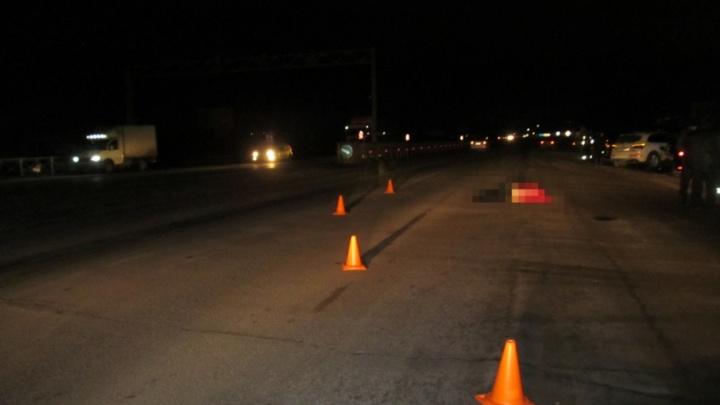 На трассе Уфа — Оренбург под колесами двух машин погибла мама трехлетнего ребенка