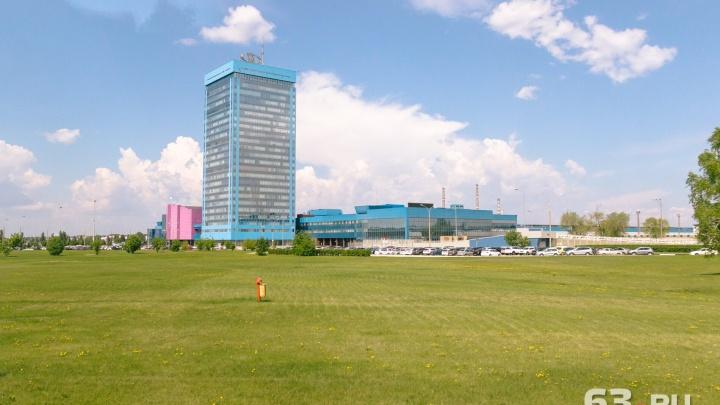В Тольятти начали ремонт самой высокой дымовой трубы в регионе