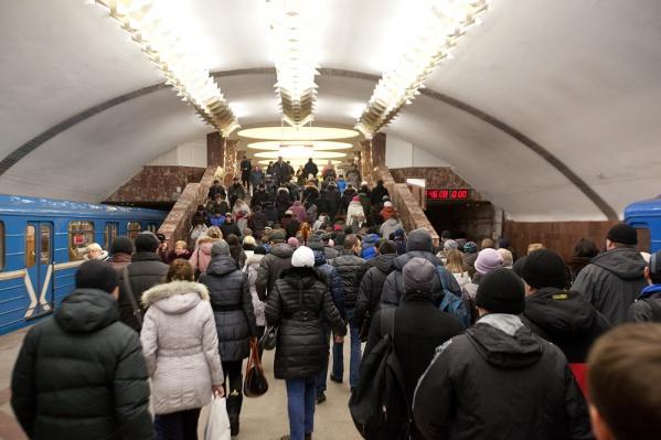 Новосибирца нашли в метро сотрудники полиции