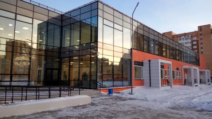 Новую школу с тиром и спальнями сдали в «Иннокентьевском»